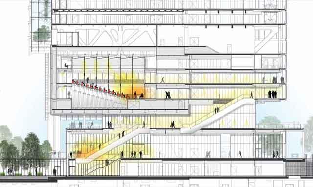 La citt verticale ioarch costruzioni e impianti il for Piano vetrata
