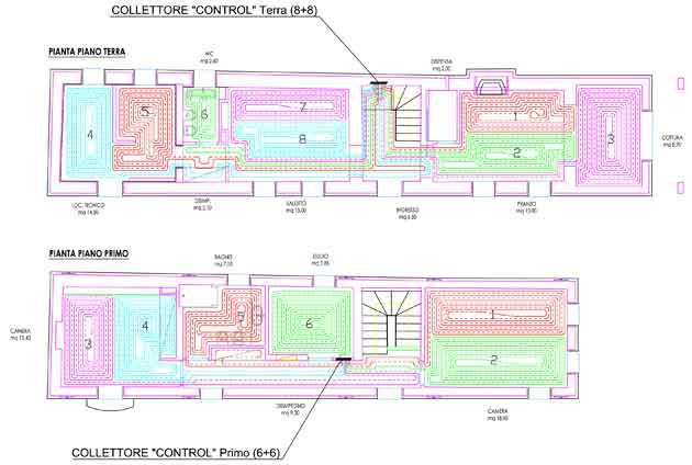 Progetto casa 100 mq due piani planimetria piano primo consegnata with progetto casa 100 mq due - Progetto casa 100 mq un piano ...
