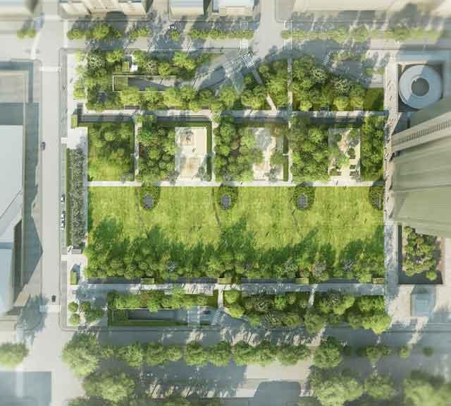 La citt verticale ioarch costruzioni e impianti il for Sezione tetto giardino