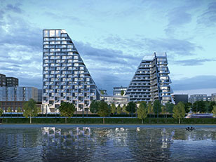 A UTRECHT LE LOOPING TOWERS DI PETER PICHLER