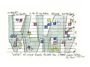 ONE TWO FIVE, STEVEN HOLL IN MOSTRA A MILANO
