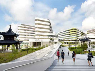 UNA NUOVA IDEA DI CAMPUS A SINGAPORE