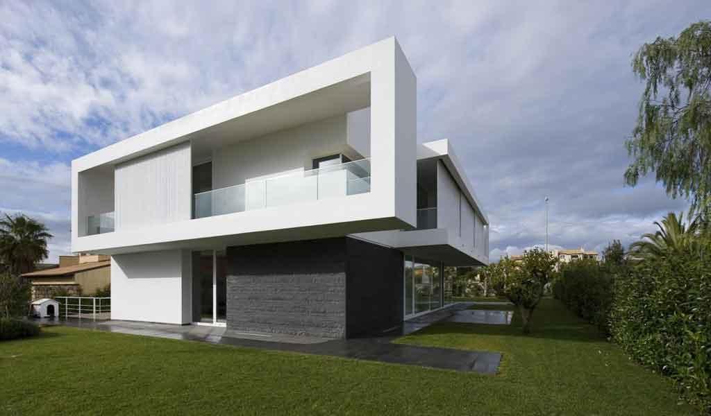 Profili ragusa contemporanea ioarch costruzioni e for Architettura moderna ville
