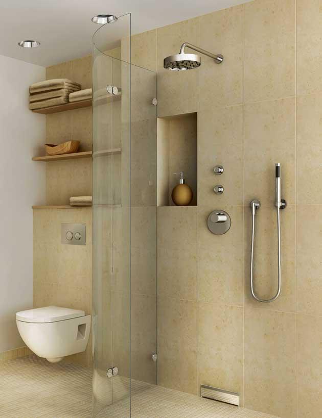 Una soluzione invisibile per l´ambiente bagno - IoArch Costruzioni e ...